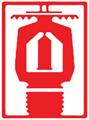 "Microfast® Model M 1/2"" Extended Coverage Pendent Sprinkler Spray Pattern"